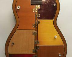 Estante de guitarra 35. Guitarra acústica reciclada con by aRRtstudios | Etsy