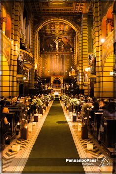 What a Godly and marvelous sanctuary, even for a wedding!