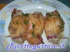 Calamari ripieni al cartoccio - http://www.ricettegustose.it/Secondi_di_pesce_1_html/Calamari_ripieni_al_cartoccio.html