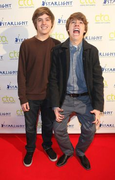 "Zack and Cody Martin(Cold and Dylan Sprouse) from ""The Suite Life of Zack and Cody"" will play Tweedle Dee and Tweedle Dum because they are funny and dumb together."