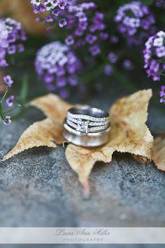 Wedding Rings. #weddingphotography    www.LauraAnnMillerPhotography.com