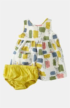 Mini Boden Wrap Dress (Infant) | Nordstrom