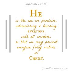 Contents of Colossians {Devotional series 1 of 4} Verus...the truth will set you free!