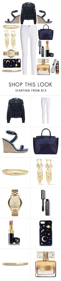 """Simplify the process"" by pulseofthematter ❤ liked on Polyvore featuring Sea, New York, rag & bone, Tory Burch, Alexandra de Curtis, David Yurman, Noir Jewelry, Michael Kors, Bobbi Brown Cosmetics, Chanel and CHARLES & KEITH"