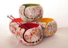 Fun-Fetti Ceramic Yarn Bowl Choose your by CreativityHappens #etsy #yarnbowl #creativityhappens Subscribe.CreativityHappens.com