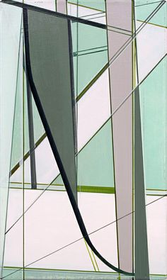 Frank Nitsche     ZOT-42-2005  2005  Oil on canvas  50 x 30 cm via Max Hetzler Gallery