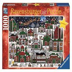 Ravensburger Americana Christmas - 1000 Piece Christmas Puzzle