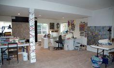 Lisa Call's fun studio