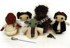 Wish I had the courage to take up crocheting toys -- seems difficult, but I'd love to make these