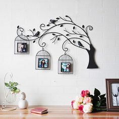 Metal Wall Art Wall Decor,The Bird's Nest Wall Decor Can Replaceable Photos 2017 Fabulous Cool Ideas: Sophisticated Wall Decor custom made wrought iron wall decor.Art And Wall Decor Adorable Tips: Broken Mirror Wall Decor mantra easy wall Wall Painting Decor, Frame Wall Decor, Metal Wall Decor, Frames On Wall, Framed Wall Art, Wall Art Decor, Wood Wall, Wrought Iron Wall Art, Metal Tree Wall Art