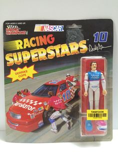 (TAS013336) - 1991 Racing Champions Racing Superstars Purolator #10 Derrike Cope