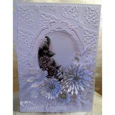 Heartfelt Creations - Elegant Asters  Project