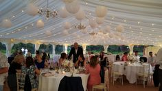 Included lakeside marquee with every event booking wedding marquee lanterns wedding fairy lights