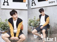 Chen @ Star1 Magazine August Issue '15