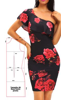 Santos, Simone Sihblog | Sihblog | curso de corte e costura | modelos de roupas  |  Моделирование блогов и советы по шитью, советы, учебники, сделай сам, креативное шитье, дизайн  - #hairstyle #instastyle #jewelry #look #lookbook #lookoftheday #menstyle Online Bridal Store, Bridal Stores, Clothing Patterns, Dress Patterns, Fishtail Dress, Costume, Dressmaking, Dresses Online, Ideias Fashion
