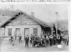 Welch, WV Station, 1907 or 1908