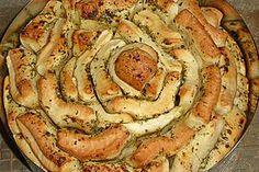 Kräuter-Zupfbrot in der Springform 1