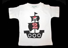 LP - Pirate Ship Birthday Tshirt