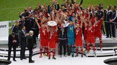 FC Bayern München - Champion of Bundesliga 2012/2013