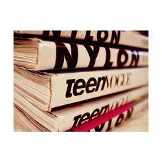 Nylon magazine image by clauud4 on Photobucket ❤ liked on Polyvore