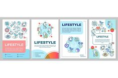 Leaflet Printing, Newsletter Templates, Way Of Life, Page Layout, Brochure Template, Booklet, Print Design, Custom Design, Lifestyle