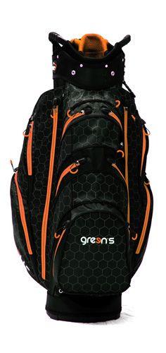 Sac de golf Green's Speeder cart noir et orange - Fin de série !