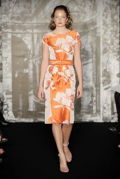 05b9743166 Carolina Herrera Resort 2010 Collection Photos - Vogue Orange Fashion