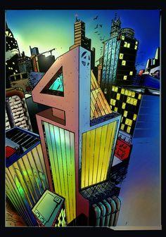 Fantastic Tower Torre Fantastica  #fantasticfour #marvel