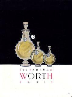 Worth (Perfumes) 1947 Requête (L)
