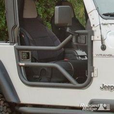 Tube Doors, Locking; 97-06 Jeep Wrangler TJ