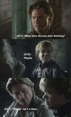 I know nothing about Game of Thrones nor do I watch it at all. This is hilarious though! maybe I should start.