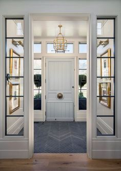 From marble slabs to mosaic patterns, discover the top 50 best entryway tile ideas. Explore rustic to modern foyer flooring design inspiration. Entryway Stairs, Entrance Foyer, House Entrance, Tile Stairs, Entrance Ideas, Main Entrance, Stairs Window, Glass Stairs, Entry Hallway