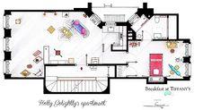 holly golightly's apartment - love Breakfast at Tiffany's