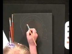 Como pintar un rostro de mujer en acrílico... Pastel Watercolor, Watercolor Pencils, Painting Videos, Painting & Drawing, Cool Paintings, Acrylic Colors, Drawing Techniques, Art Tutorials, Art Drawings
