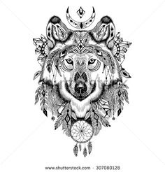 Design Tattoo Animals Photos et images de stock | Shutterstock
