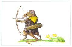 <*> RW. Mouse Archer by bridge-troll