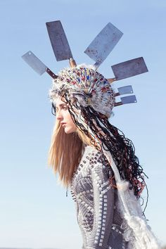 Eccentrically Dramatic Headdresses