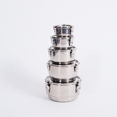 Onyx Containers - great stainless steel bowls, airtight and pretty much leakproof
