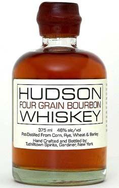 Bourbon Whiskey Hudson Four Grain
