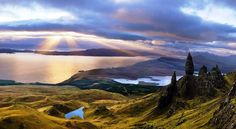 Isle of Skye, Scotland - http://www.telegraph.co.uk/environment/