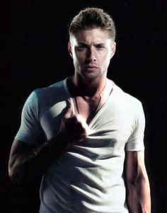 if Jensen Ackles ever did porn, I think my vagina would explode. :))