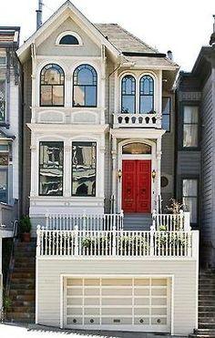 cute little row house