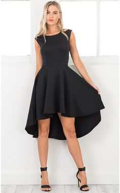 newest adca6 22fee Hysteria dress in black Produced By SHOWPO