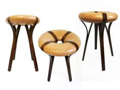 The Ru-Ju Stool by Yu-Fen Lo Was Inspired by the Ancient Jade Coin #design #Creativity trendhunter.com