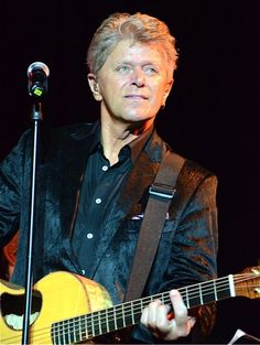 Peter Cetera - This man is an amazing singer and composer! His songs touches my heart!  Glory of Love, Forever Tonight, You're The Inspiration, Next Time I Fall, Hard To Say I'm Sorry...