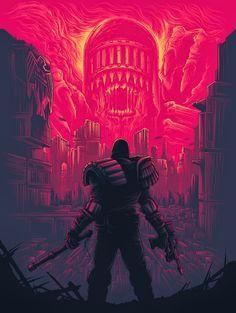 Dan Mumford – Mega City One for Galerie F Comic Books Art, Comic Art, Comic Movies, Bioshock, Arte Assassins Creed, Dan Mumford, Art Of Dan, Acid Art, Geek Art