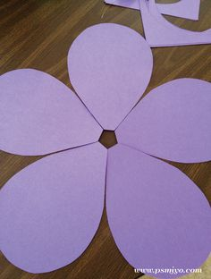 P.S. Make It Your Own: Giant Paper Flowers {craft}