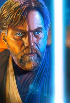 Star Wars portraits: Obi-Wan by vividfury.deviantart.com on @deviantART