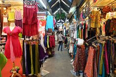 25 Shopping Meccas You Need To Visit #refinery29 http://www.refinery29.com/2014/02/63197/best-shopping-destinations#slide19 Chatuchak Market in Bangkok, Thailand If shopping's your thing, it's pretty impossible to travel to Thailand and not hit up the Chatuchak weekend markets in Bangkok. The largest market in Thailand, it's chock-full of stalls hawking everything you could possibly want to buy, from electronics to textiles, home wares to iced teas, and possibly even a new pet.