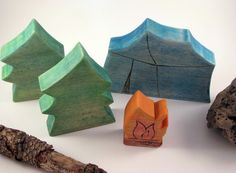 fun playset to get in the camping mood